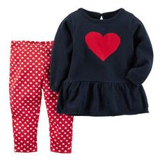 Valentine's Day Sweater & Pant Set