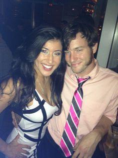 Patricia Fernandez with Dane Westby