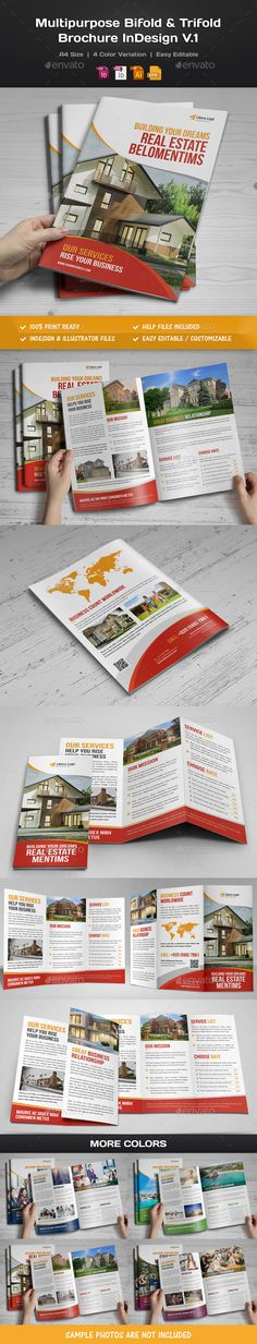 Real Estate Brochure Design v2 Brochures, Brochure template and - sample real estate brochure