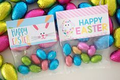 Bag toppers for easter eggs.