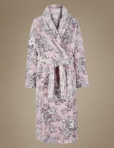 Leopard Print Shimmer Dressing Gown with Belt  0ec0d48bb