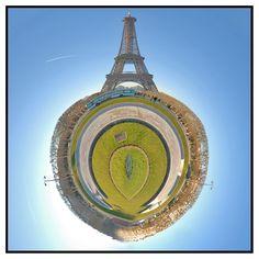 Photo, Micro & Perso: Little Planet tour Eiffel bis.