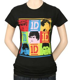 One Direction t-shirt - My dd is always after 1D tees!  #t-shirts #tees #1D