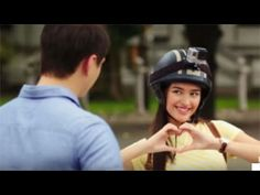 Yes Liza - he wants and needs your heart Pinoy Movies, Liza Soberano, Cute Faces, Riding Helmets, Captain Hat, Drama, Romance, Actors, My Love