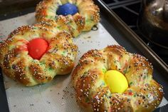 Italian Easter bread..........tastybusiness.com for recipie