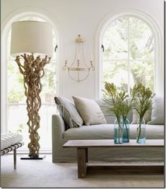 Pure Style Home: Natural Elements: Driftwood