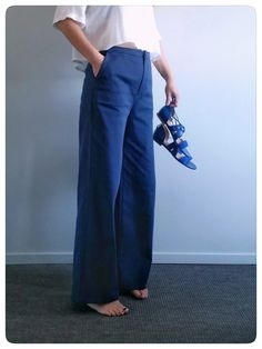patron de couture femme pantalon palazzo Romarin