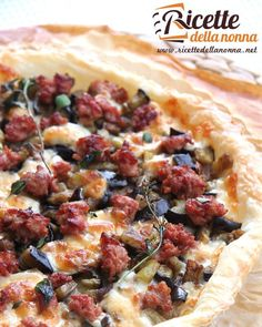 Quiche appetitosa con melanzane salsiccia formaggio Asiago e porri  #quiche #appetizer #melanzane #formaggio #foodporn #vsco #foodstyle #food #cooking #foodstagram #follow #followme #instagood #instalike #instadaily #recipe #italianrecipe #italianfood #ricettedellanonna #good #love #happy #italy #passione #fotooftheday #foodblogger #chef #beautiful #instafollow #vscofood
