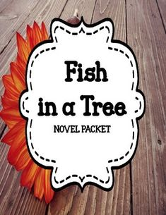Fish in a tree reading responses journal prompts set 0f 53 fish in a tree comprehension and vocabulary novel unit fandeluxe Choice Image