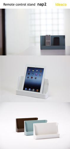 For remote controls or iPad display