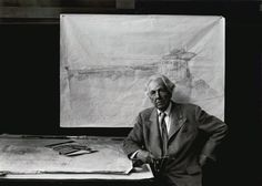 Frank Lloyd_Wright, Taliesin Easy, Wisconsin,_1947