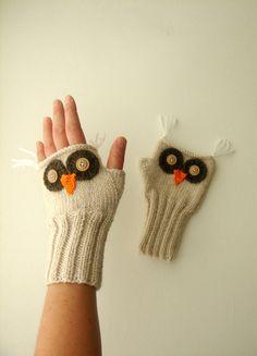 Owl Gloves.  :)