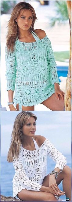 Crochet Pineapple Beach Cover Up Free Pattern - Crochet Beach Cover Up Free Patterns