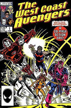 1st Issue regular series, #hawkeye at his best. #westcoastavengers