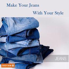 Custom Made Jeans Online Shop, Start Designing your Jeans