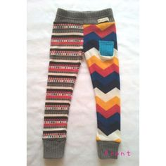 children's leggings. Funky.