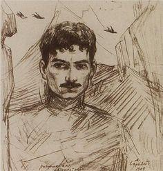 Self-portrait - Martiros Saryan