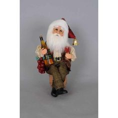 Shop Karen Didion Originals at Wayfair for a vast selection and the best prices online. Old World Christmas Ornaments, Christmas Wine, Handmade Christmas, Christmas Holidays, Santa Figurines, Collectible Figurines, Cousins, Modern Holiday Decor, Karen
