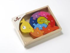 BeginAgain Number Snail Puzzle:Amazon:Toys & Games