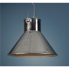 Industrial Luxe Cone Pendant via shades of light