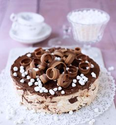 Nutellasemifreddo Food Crafts, A Food, Tart, Cereal, Deserts, Goodies, Dessert Recipes, Pudding, Desserts