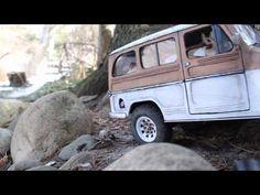 Willys wagon rural del '67 en miniatura (RC)