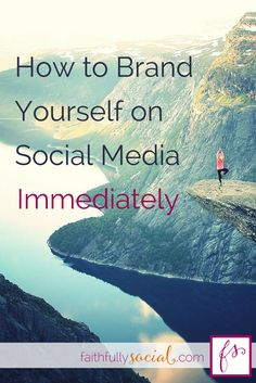 Branding is all anyone can talk about. You've heard about having a voice, and knowing what you'll write about, but do you know How to Brand Yourself on Social Media Immediately? I go through Pinterest Branding, Twitter Branding, Facebook Branding and Instagram Branding to help share different facets of your blogging authority! by @faithfulsocial