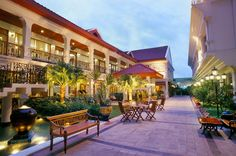 Siam City Hotel, Bangkok, Thailand