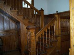 1886 Victorian staircase