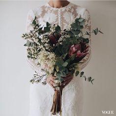 乾燥花-歐式新娘