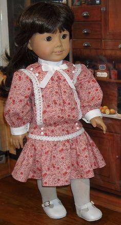 1904 Pink Summer Dress Made by KMKdollshop fits Popular 18 Inch Dolls cb1b5b951