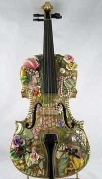 Pique Assiette instrument by artist Melissa Miller