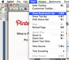 how to get pinterest button on google chrome