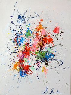 """#Popart - Sabine Nielsen, Spotty, 2013. Sabine Nielsen is a Franco-Danish painter. Her inner vision is expressed through what is seen and felt in the present moment. Her constant inspiration is the timeless and endlessly renewable """"circle of life"""", explored through different mediums(...). http://www.spotuart.com/collections/artist-nielsen-sabine #onlineartgallery - #contemporaryart - pop art - online art gallery - contemporary art"""