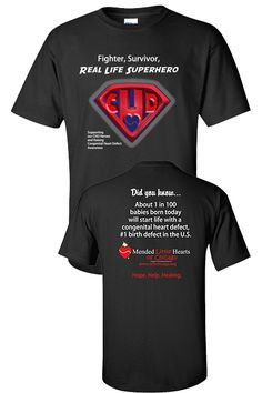 MLH CHD Superhero T-Shirt Chd Awareness Month, Coarctation Of The Aorta, Atrial Septal Defect, Open Heart Surgery, Congenital Heart Defect, Warriors Shirt, Childrens Hospital, Heart Disease, Digeorge Syndrome