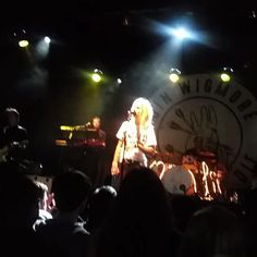 Gin Wigmore, Matthew Santos & Dorothy performed on Thursday at El Rey Theatre