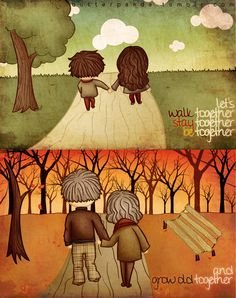 Together Forever by ~arielledreamspandas
