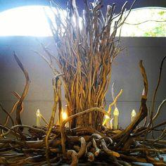 1000 ideas about twig chandelier on pinterest. Black Bedroom Furniture Sets. Home Design Ideas