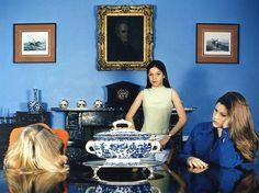 Sarah Jones 'The Dining Room (Francis Place) I', 1997 © Sarah Jones, courtesy Maureen Paley, London