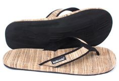 Indosole Mens Banana Weave Sandals with Tire Soles