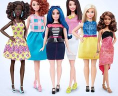 It's 2016, people, and there's a whole new Barbie. Actually, there are several new Barbies. Toy giant Mattel has unveiled a newly revamped Barbie collection designed to more accurately reflect the diversity of the children who play with the doll. The newly unveiled dolls come in a range of heights, shapes, skin color and hair color.