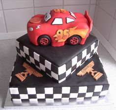 Cars cake (maybe top with toy car to save time and sanity)