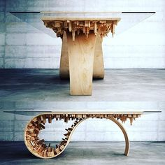Fantastisch Wave City Table By Stelios Mousarris 🔥     Via @homeadore_decor