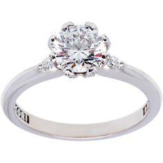 <li>Cubic zirconia and diamond ring </li> <li>18k white gold jewelry</li> <li><a href='http://www.overstock.com/downloads/pdf/2010_RingSizing.pdf'><span class='links'>Click here for ring sizing guide</span></a></li>