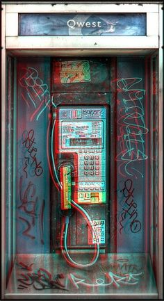 3D Picture of the Day: Telephone Booth http://3dgeeks.com/news_story/3d_picture_of_the_day_telephone_booth.html