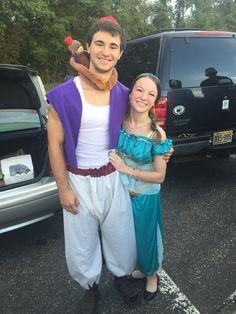 Jasmine & Aladdin DIY