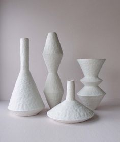 Giselle Hicks embodies touch in the form of a vessel Decorative Wall Tiles, Decorative Objects, Ceramic Table, Ceramic Pottery, Wooden Vase, Grand Vase En Verre, Grands Vases, Sculptures Céramiques, Clay Studio