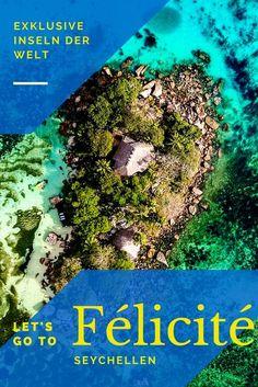 Exklusive Urlaubsorte. Urlaub auf einer Insel. Das non plus ultra der Seychellen ist wohl die kleine Insel Félicité. Die Hotelgruppe Six Sense hat sich 2017 hier niedergelassen und sorgt neben dem Wohl des Gastes auch für das Wohl der Natur. #seychellen Travel Around The World, Around The Worlds, Tolle Hotels, Explore, Fern, Group, Board, Victoria, Inspiration