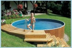 Bazen Bazen Bazen The post Bazen appeared first on Garten ideen. Bazen Bazen Bazen The post Bazen appeared first on Garten ideen. Above Ground Pool Landscaping, Small Backyard Pools, Diy Pool, Backyard Patio Designs, Small Pools, Small Above Ground Pool, In Ground Pools, Swimming Pools Backyard, Swimming Pool Designs