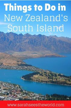 If you haven't seen the Southern part of New Zealand's South Island, you're missing out on the most beautiful parts of the country! I was absolutely speechless by the incredible scenery and all of the things to do in New Zealand's South Island. Wanaka New Zealand, Queenstown New Zealand, New Zealand Itinerary, New Zealand Travel Guide, Auckland, Visit New Zealand, New Zealand South Island, Travel Guides, Travel Tips